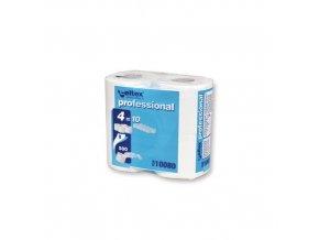 Toaletní papír Celtex Professional 2vrstvý, 12 cm, 55 m, 100 % bílá, 4 role