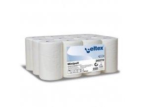 Papírové ručníky Celtex Lux 2vrstvé, 212 útržků, bílé, 12 ks