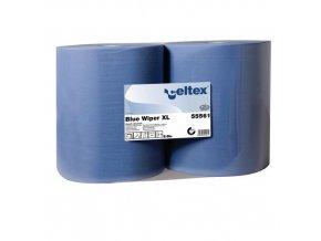 Průmyslové papírové utěrky Celtex Blue Wiper XL 2vrstvé, 1 000 útržků, 2 ks