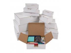 Kartonová krabice s víkem, 70 x 150 x 100 mm