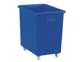 Velkoobjemový plastový kontejner s kolečky, 135 l