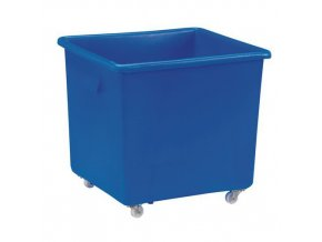 Velkoobjemový plastový kontejner s kolečky, 190 l