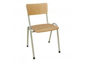 Dřevěná jídelní židleGrey