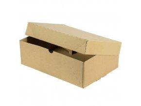 Kartonová krabice s víkem, 102 x 307 x 223 mm