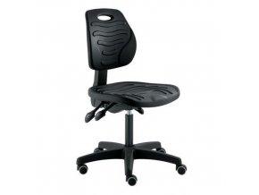 Pracovní židle Softy s kolečky
