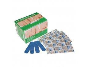 Sada detekovatelných náplastí s polštářkem, 100 ks