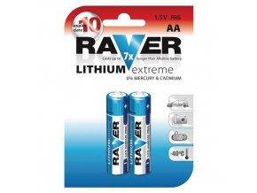 Baterie Lithiová AA tužka