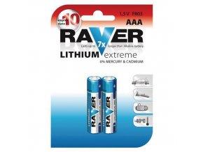 Baterie Lithiová AAA mikrotužka