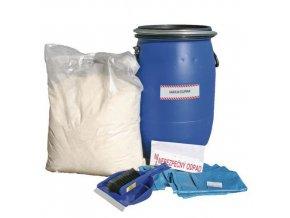 Havarijní souprava s hydrofobním sorbentem Reosorb, olejová, sorpční kapacita 40 l