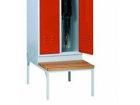Lavice Cameron pod šatní skříň, 60 cm