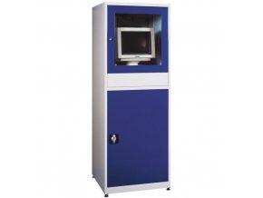 Dílenská skříň pro PC, 175 x 64 x 63 cm, bez ventilátoru