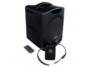 Řečnický systém WA 400RC s náhlavním bezdrátovým mikrofonem