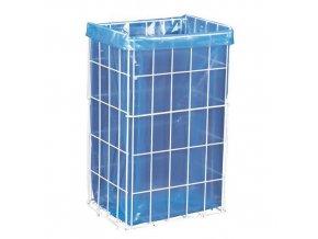 Hygienický drátěný odpadkový koš Merida Block, objem 47 l