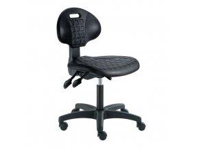 Pracovní židle Nelson ASY s tvrdými kolečky