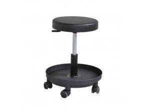Pracovní stolička Smart s kolečky