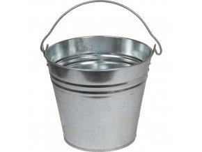 Kovový kbelík, 12 l