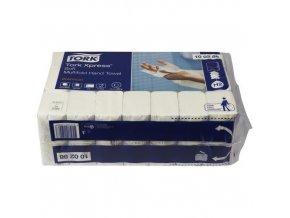 Papírové ručníky Tork Express Premium Soft 2vrstvé, 110 útržků, bílé, 21 ks