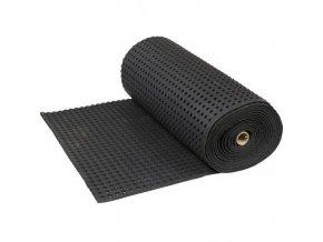 Protiúnavová průmyslová rohož s děrovaným povrchem, 1000 x 90 cm