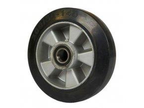 Gumové pojezdové kolo, průměr 200 mm, valivé ložisko