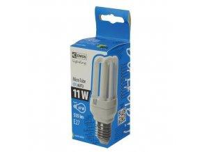 Úsporná žárovka 11W 6U, teplá bílá