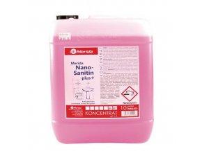 Čisticí prostředek na koupelny Merida Nano Sanitin, 10 l