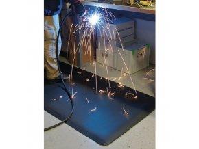 Protiúnavová průmyslová rohož s diamantovým povrchem, šířka 90 cm, metrážová