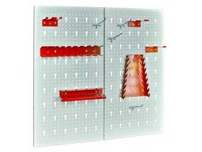 Závěsný panel se sadou držáků nářadí, 10 kusů