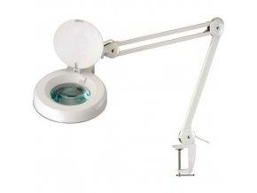Laboratorní lampa Manu Jay s kruhovou lupou, 22 W