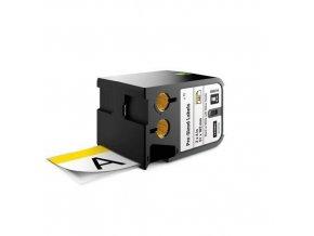 Předem nařezané štítky XTL bezpečnostní se žlutou hlavičkou