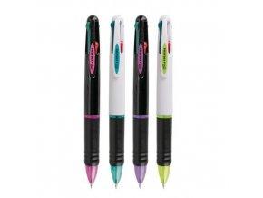 Kuličkové pero, čtyřbarevné