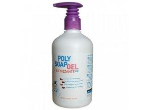 Dezinfekční gel na ruce Polysoap, 500 ml, 12 ks