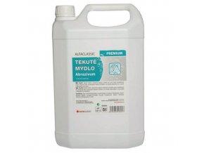 Tekuté mýdlo Abrazivum Premium, 5 l, s dávkovací pumpou