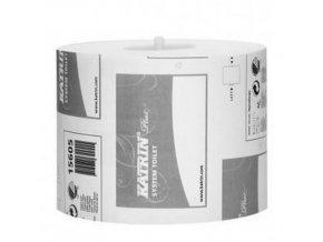 Toaletní papír Katrin System Plus 3vrstvý, 13,5 cm, 500 útržků, bílá, 36 rolí