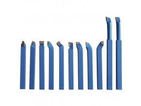 Soustružnické nože pro všechny typy soustruhů, 10 mm, sada - 11 ks