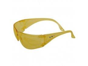 Ochranné brýle CXS Lynx se žlutými skly