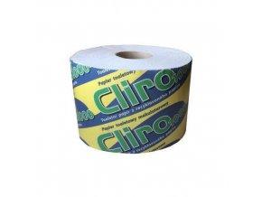 Toaletní papír CLIRO 2vrstvý, recyklovaný, 24 ks