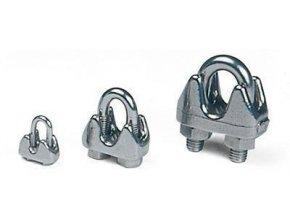 Lanové svorky pro průměr lana 2 - 5 mm