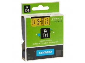 Páska D1, šířka 6 mm