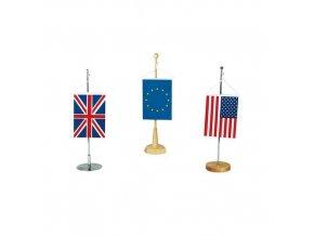 Malé reklamní vlajky, s očkem pro zavěšení, 16 x 11 cm, 10 ks