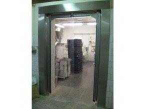 Kyvná vrata pro lehký provoz, šířka 151 - 175 cm