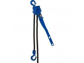 Řehtačkové zvedáky s válečkovým řetězem, do 1 600 kg