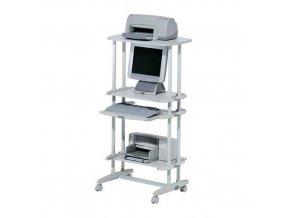 Vysoký mobilní PC stůl Rocada