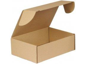 Kartonové krabice s víkem, 105 - 155 x 320 x 220 mm