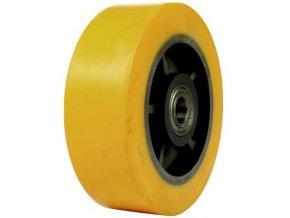 Polyuretanová pojezdová kola, průměr 125 - 250 mm, valivá ložiska