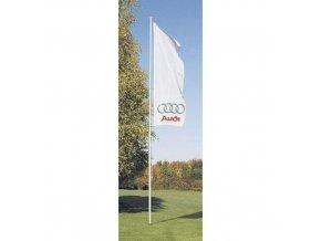 Hliníkové vlajkové stožáry, 5 - 10 m