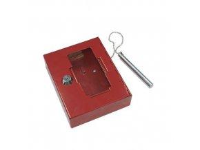 Skříňka na nouzové klíče