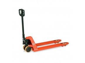 Paletové vozíky BT LHM230 s krátkými vidlicemi, do 2 300 kg, polyuretanová řídící kola