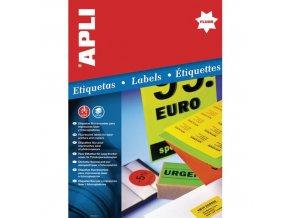 Univerzální samolepící etikety Apli