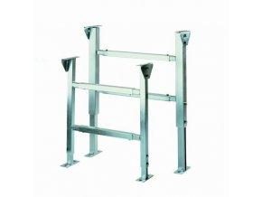 Podstavné konstrukce pro pásové dopravníky, nastavitelná výška 1 000 - 1 200 mm