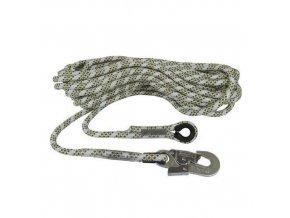Bezpečnostní lana s karabinou